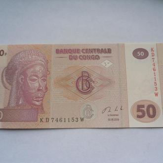 Конго 50франков 2013г