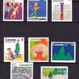 Канада  MNH - рождество -