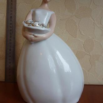 Невеста с цветами. Дебют. Старый Киев.