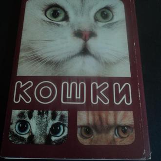 Кошки. Комплект 18 открыток.