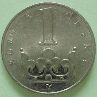 (А) Чехия 1 крона, 1996