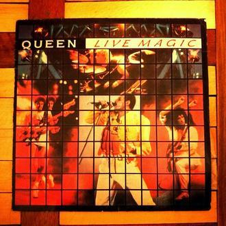Виниловая Пластинка. Queen - Live Magic