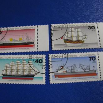 Транспорт Кораблі Флот Німеччина 1977