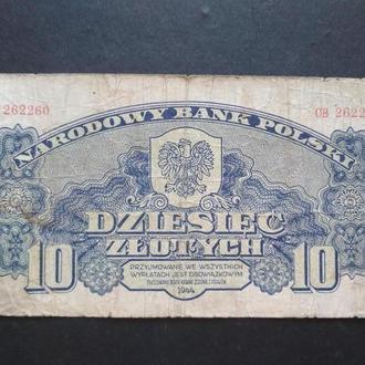 DZIESIEC ZLOTYCH 1944 r.