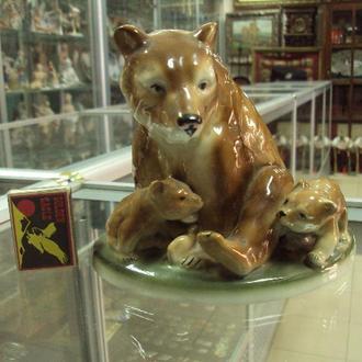 германия медведи медведица с медвежатами