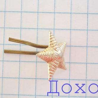 Знак эмблема родов войск СССР звезда на погоны 2