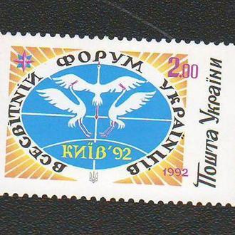 1992. Всемирный форум украинцев