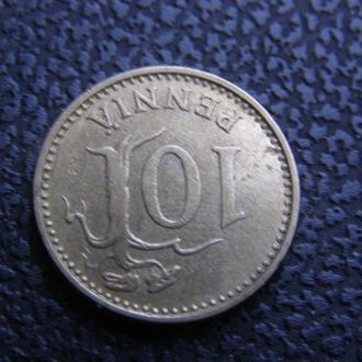 10 пенни 1982 Финляндия