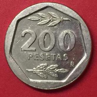200 песет 1988 год Испания