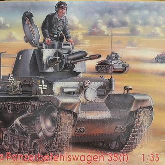 Сборная модель танка Pz Kpfw 35(t) Skoda 1:35 CMK 35010