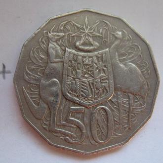 АВСТРАЛИЯ, 50 центов 1980 года.