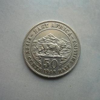 Восточная Африка 50 центов 1948