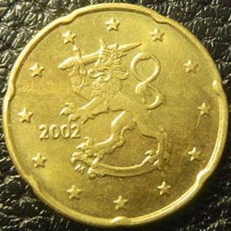 20 евроцентов 2002 Финляндия