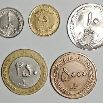 Иран 5 штук