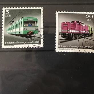 1979. ГДР. Поезда