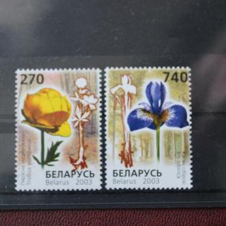 Беларусь, 2003г, Флора, **