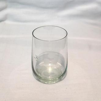 Стакан бокал с дизайном 200мл стекло времена СССР
