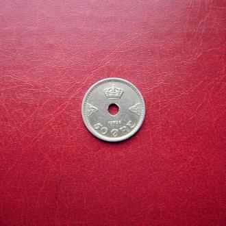 Норвегия 50 эре 1926