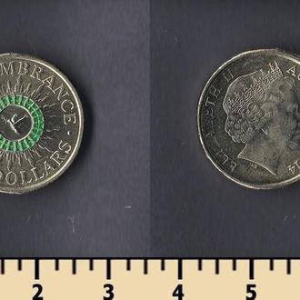 Австралия 2 доллара 2014