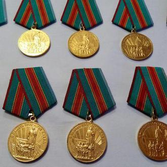 Оригиналы медалей по 25 гривен в отличном состоянии