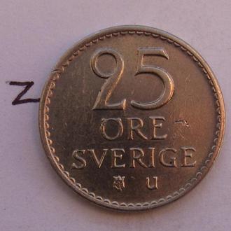 ШВЕЦИЯ, 25 эре 1966 года.