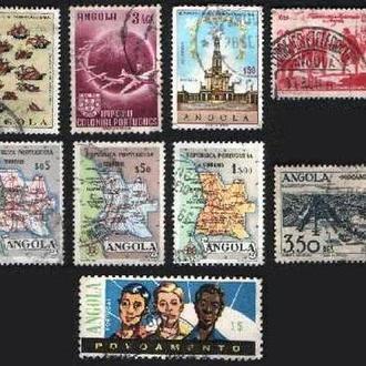 Ангола. Порт. колония. Старые марки