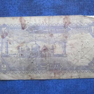 Банкнота 2 рупии Пакистан 1985-1999 №4