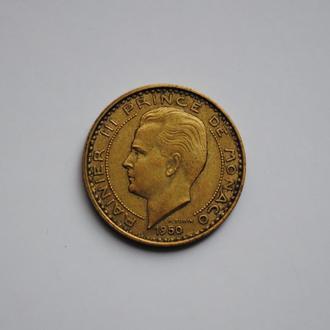 Монако 10 франков 1950 г., 'Старый франк (1837 - 1959)'