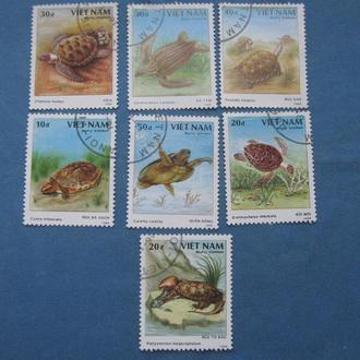 Вьетнам 1989 год Фауна Черепахи