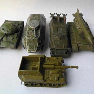 Набор военной техники СССР USSR клеймо
