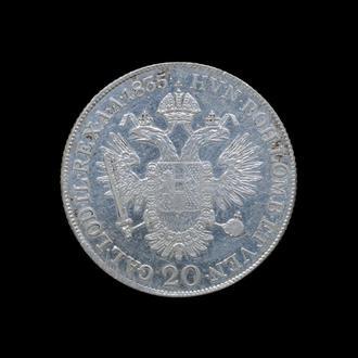 20 Крейцеров 1835 В,(25) Австрия