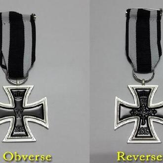 германия . железный крест 2 класса с лентой  1914 первой мировой войны