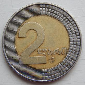 Грузия 2 лари 2006г.