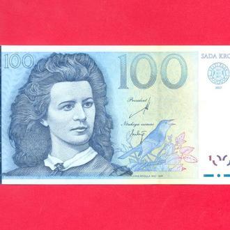 Боны СНГ Эстония 100 кроны 2007 г.
