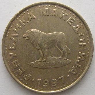 Македония 1 денар 1997 год