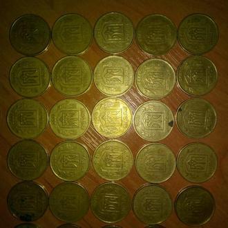 монеты Украины 1992-2007 год.