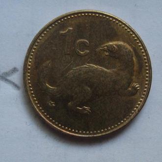 МАЛЬТА 1 цент 2004 года.