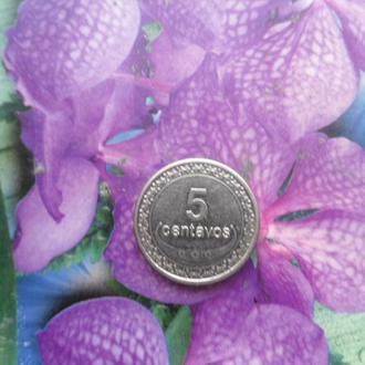 Тимор 5центавос 2011г