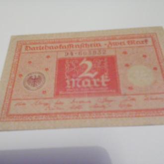 2 марки Німеччина-1920