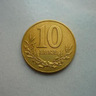Албания 10 леков 1996