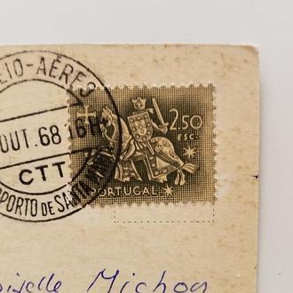 Марка Португалия 1953 год + Открытка