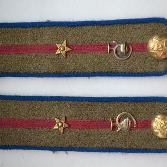 Погоны младший Лейтенанта медицинской службы внутренних войск НКВД образца 1943года