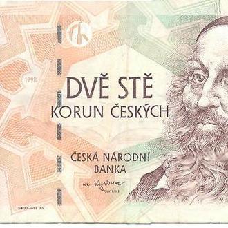 Чехия, 200 крон 1998