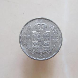 Румыния 100 лей 1936 г. 100 Лей 1936 р  Румунія (редкая)