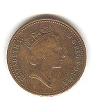 1 пенни 1988