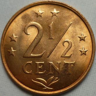 Нидерландские Антилы 2 1:2 цента 1976 состояние в коллекцию