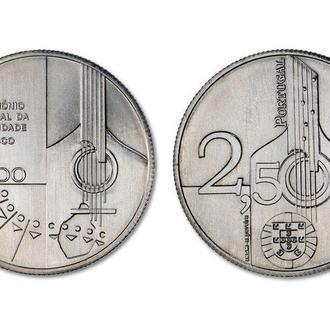 2,5 Евро 2015 Гитара,(4) Португалия