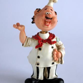 Антикварная фигурка статуэтка Шеф Повар Germany