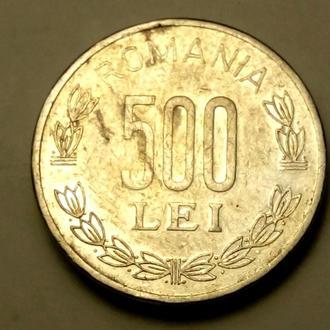 500 леев 1999 года Румыния СОСТОЯНИЕ !!! а2