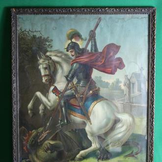 Икона Воин на коне.